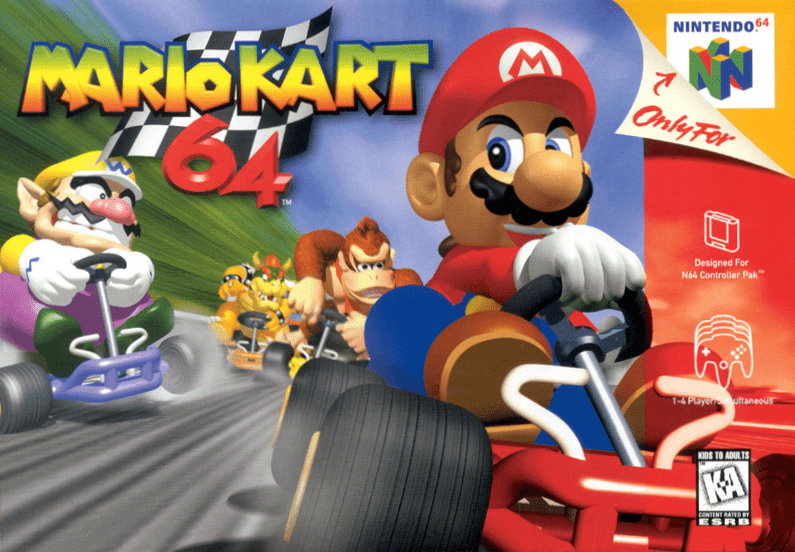 mario kart 64 wii u virtual console review